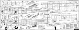 Ryan Navion Super 260 model airplane plan